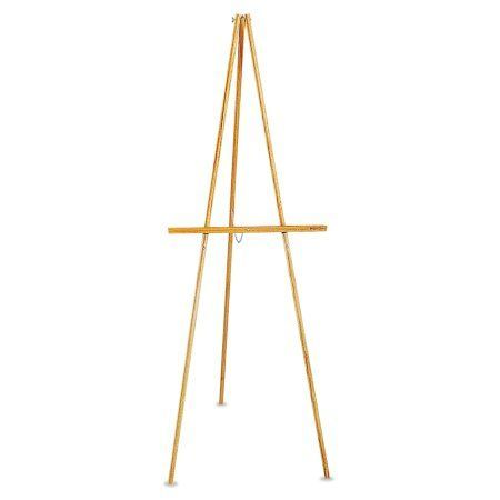 Quartet Lightweight Tripod Floor Easel, 64 inch High, Natural Oak
