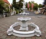 SR753 Kaskadenbrunnen mit Gartenfigur Springbrunnen Gartenbrunnen 235cm