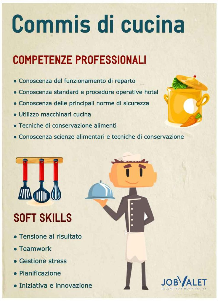 3972 best lavoro images on pinterest php food and in italia for Commis di cucina stipendio