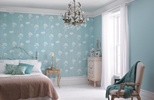 wallpaper and sea urchin blue