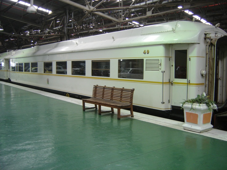 This used to be the train for the President of South Africa