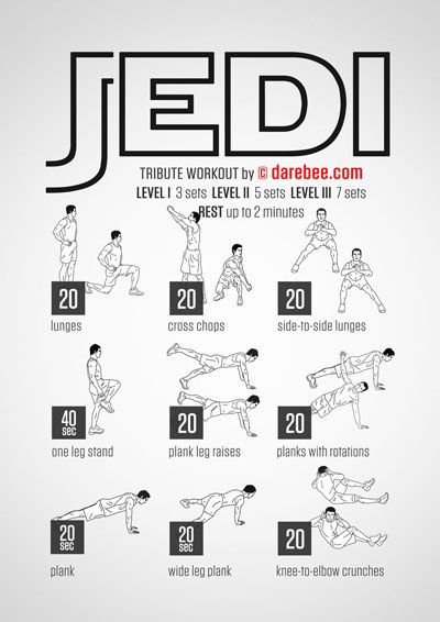 Jedi Workout | Posted By: AdvancedWeightLossTips.com