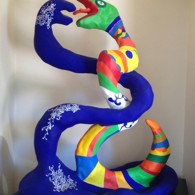 Niki Saint Phalle sculpture