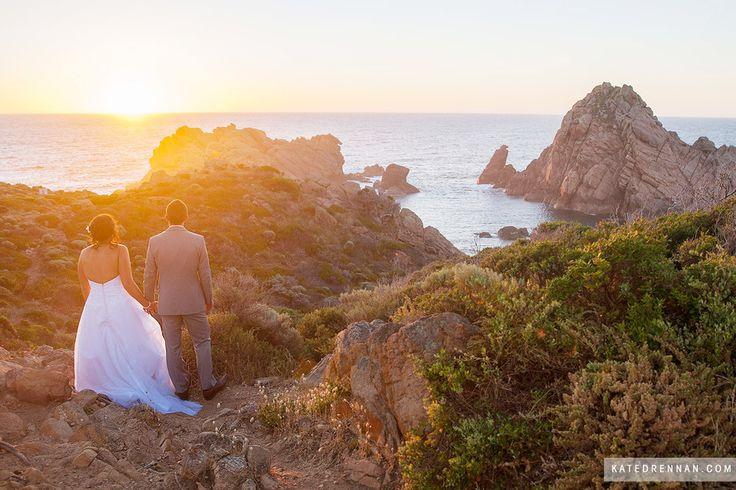 Sugarloaf Rock, Bunker Bay, Down South, Western Australia - - WEDDING PHOTOGRAPHER PERTH » Kate Drennan Photography