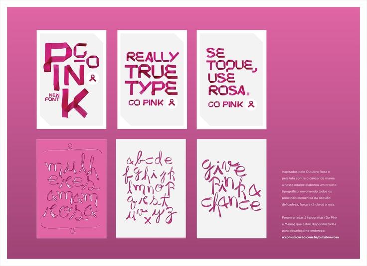 Outubro Rosa: ação desenvolvida pela RC Comunicação para o Outubro Rosa em 2012.