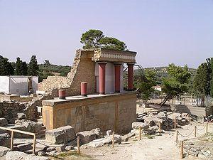Minoische Kultur – Ausgrabungen und Rekonstruktion in Knossos
