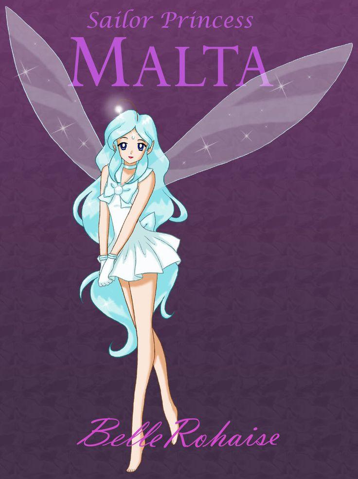 Sailor Malta by ~BelleRohaise on deviantART *FANART