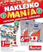 Gazetka Auchan - Naklejkomania, 29/03-24/04