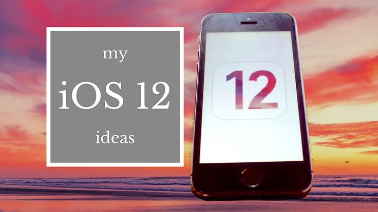 My ideas for #iOS12 for #iPhone #smallyoutuber #smallyoutubers