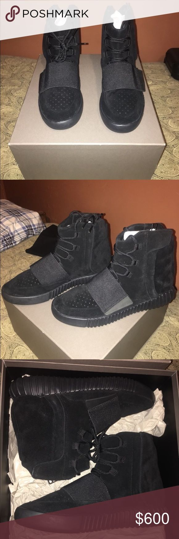 Yeezy Boost 750 Triple black size 10 | DeadStock | Never Worn | Receipt Present | Comment Before Purchase Yeezy Shoes Sneakers