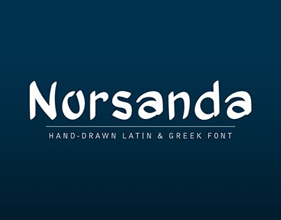 """Check out new work on my @Behance portfolio: """"Norsanda 
