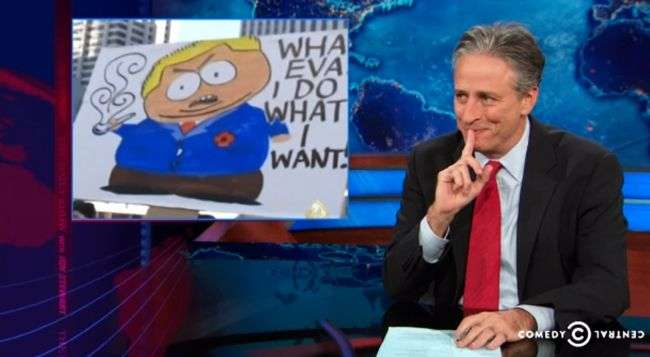 Watch Jon Stewart Make Fun Of Toronto Mayor Rob Ford On 'The Daily Show'