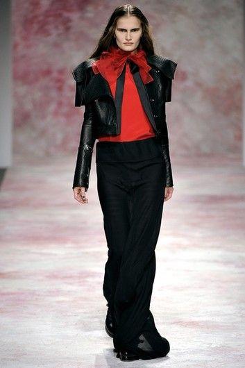 Модные юбки сезона осень–зима 2011/2012: Юбка-макси Prabal Gurung   Фотографии