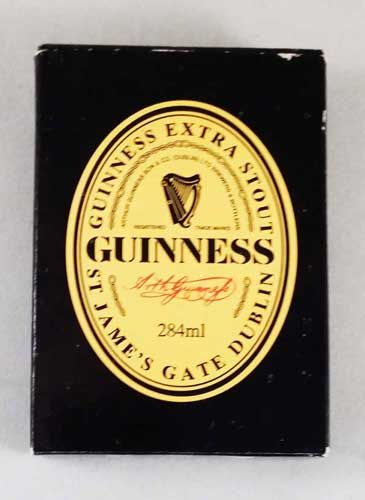 Perfect for the Guinness and Stout Fan. Guinness Playing Cards. Visit our Store.