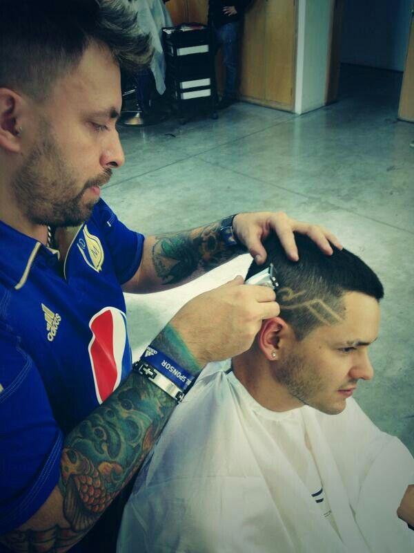 El peluquero de ricardo abarca