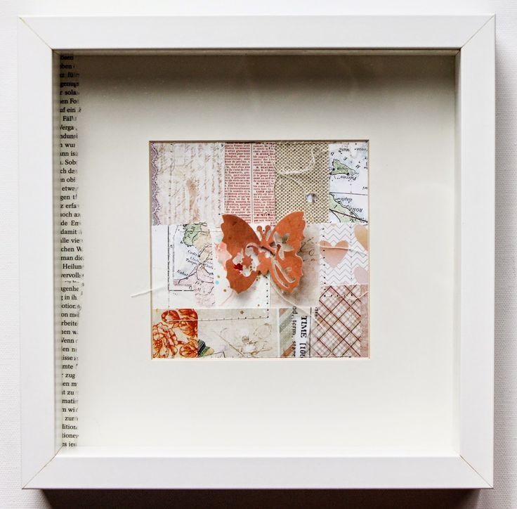 Scrapmanufaktur: Frame it - Home Decoration with Sizzix