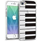 iPhone 8 Case, Orzly Art Case for iPhone 7 / iPhone 8 - Clear Case Cover Shell for iPhone 8 - Piano Keys. Introducing the Orzly Art Range, protective iPhone cases designed to add an element of fun to your iPhone 7 & iPhone 8. Features a detachable rubberised lip to ensure your iPhone is not scratched when putting the case on, as well as offering increased protection to the frame of your phone. The transparent design keeps your iPhone displayed through the pattern print which allows you to...