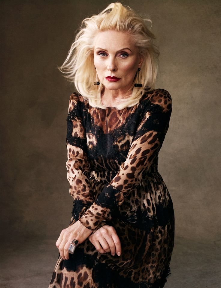 She really looks amazing. Victor Demarchelier photographs Debbie Harry for Vogue Spain, May 2013.