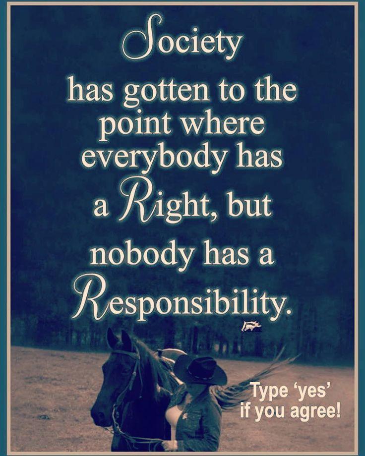Todos exigimos nuestros derechos... Pero Cuántos se comprometen con sus responsabilidades?