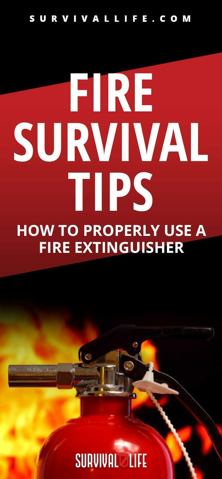 Survival Tip How To Make A Fire Fire Extinguisher Survival Tips