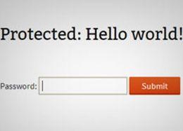 Proteksi Post WordPressmu Dengan Password atau Mode Private