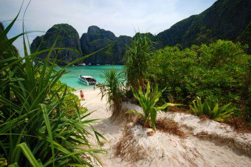 Maya Bay på PhiPhi, Thailand