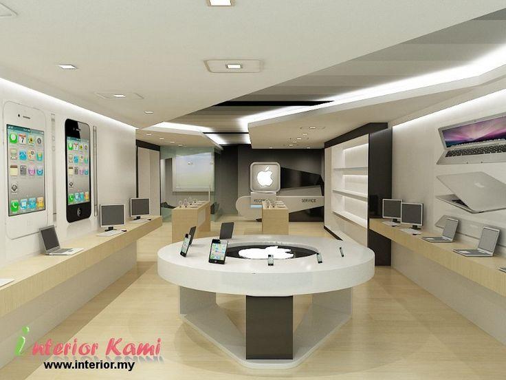 Computer Shop 3d Interior Dise O Interior De
