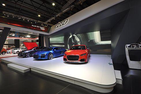 Arquitectura publicitaria de alta gama – Audi – B+T Arquitectura