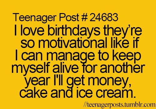 Teenager Post Birthday