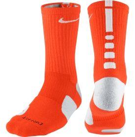 Nike Elite Crew Basketball Sock - Dick's Sporting Goods - $14 - Orange/White - Medium
