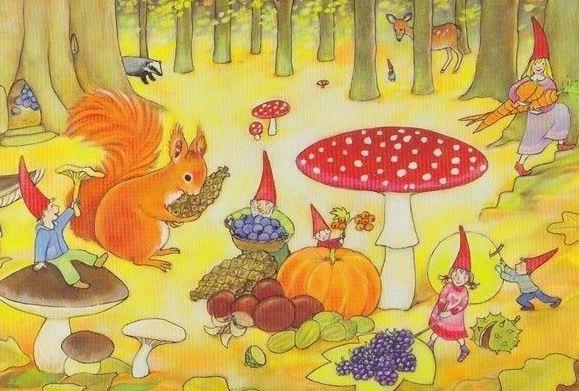 Praatplaat herfst