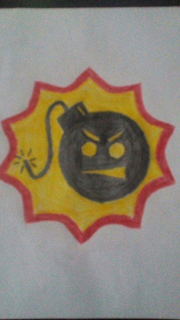 Serious Sam Logo Drawing