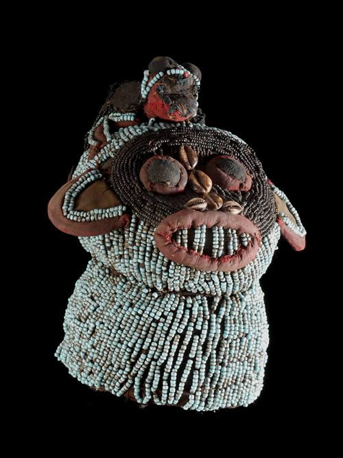Africa | A  Zoomorphic mask from the  Bamileke people of Cameroon | ca. 1970