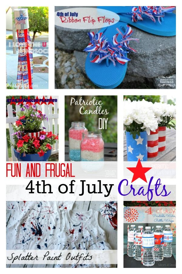 4th of july day crafts