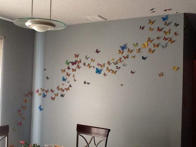 Heidi's Hubbub: Butterfly Wall Art