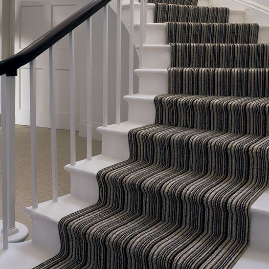 69 Best Striped Carpets Images On Pinterest Stairs