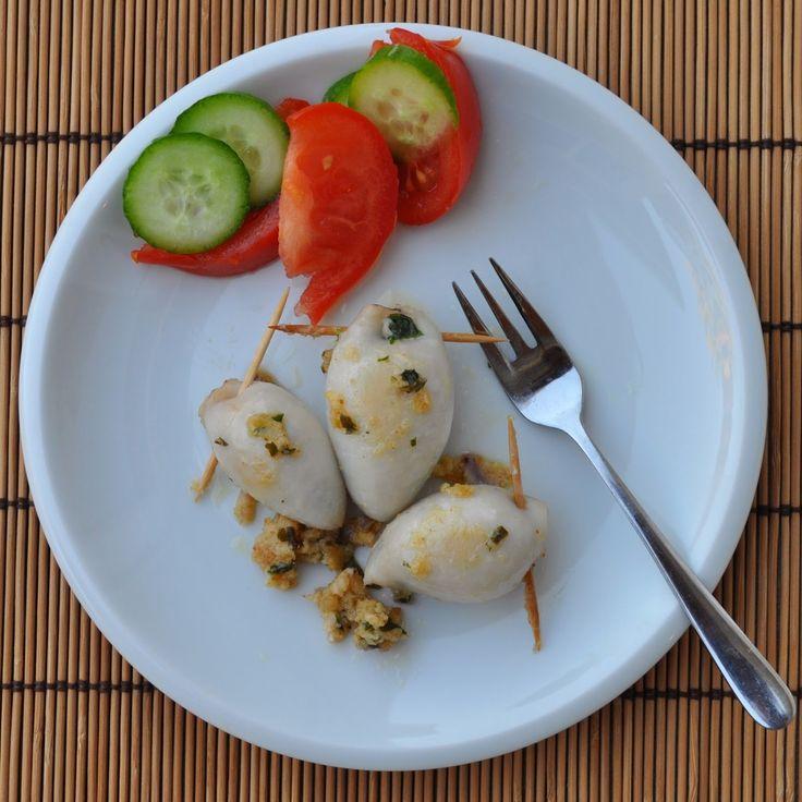 Cooking with Manuela: Stuffed Calamari - Calamari Ripieni
