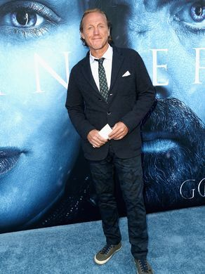 "Jerome Flynn at the GoT season 7 ""blue carpet"" premiere at Walt Disney Concert Hall on Wednesday, 12 July 2017 in Los Angeles"