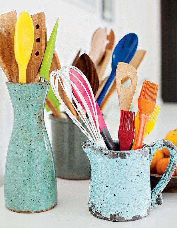 Para facilitar a sua vida dentro da cozinha (Foto: Elisa Correa/Editora Globo) | Kitchen