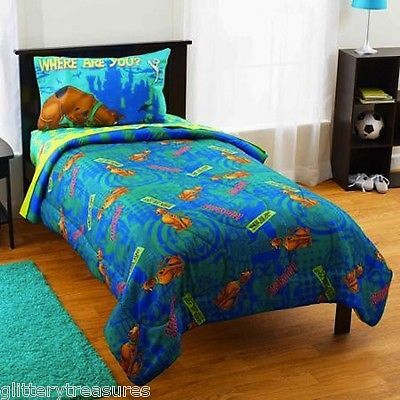 The Perfect Finishing Touch To Your Scooby Doo Fan Bedroom Decor. Includes  Comforter, Flat Sheet, Fitted Sheet And A Pillowcase.