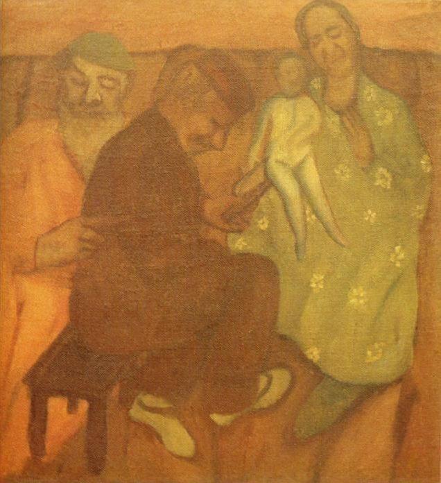 De ouders van Marc Chagall in Vitebsk