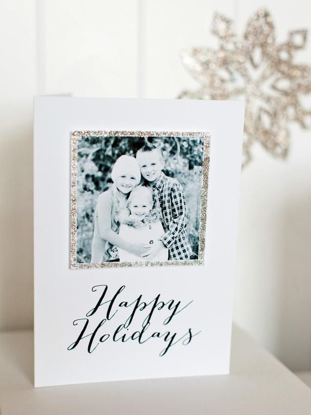 How to Make a Handmade Holiday Photo Card : Decorating : Home & Garden Television