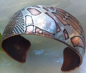 DEBORHREAD.COM: Step by Step: Making a Copper Etched Cuff Bracelet