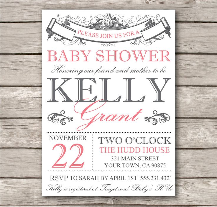 Cool How To Create Free Printable Baby Shower Invitation Templates  Templates Check More At Http:  Free Customizable Printable Baby Shower Invitations