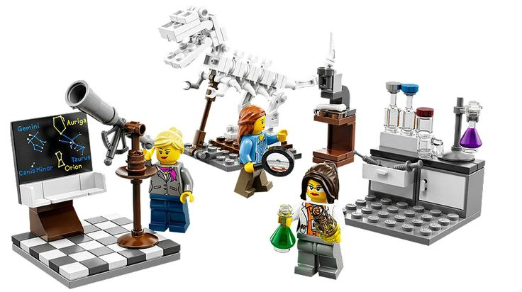 Lego Releases Female Scientists Set, May Appease 7-Year-Old Critic