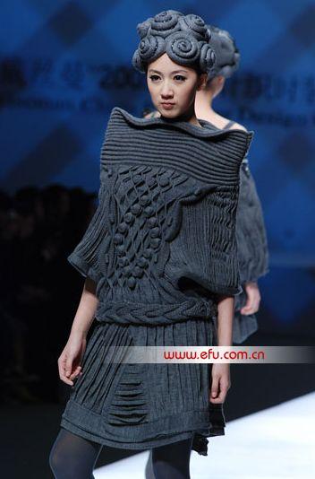 ? China Fashion Week 2012 | Knit | Knitwear | runway | catwalk | high fashion | tricot