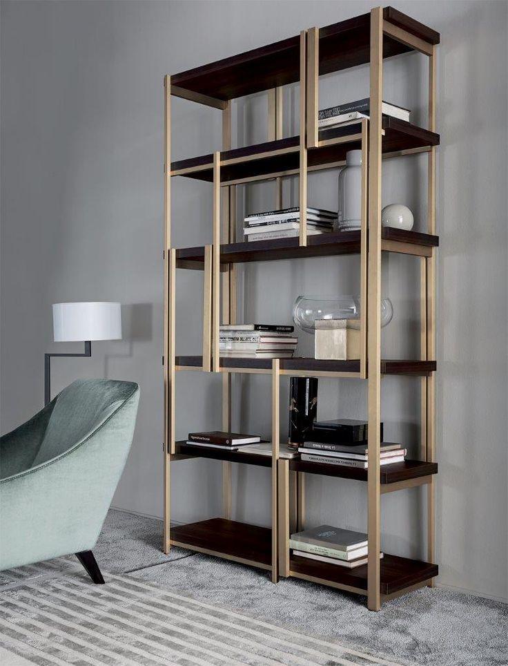 MONDRIAN bookshelf by Massimiliano Raggi for Casamilano new collection 2015