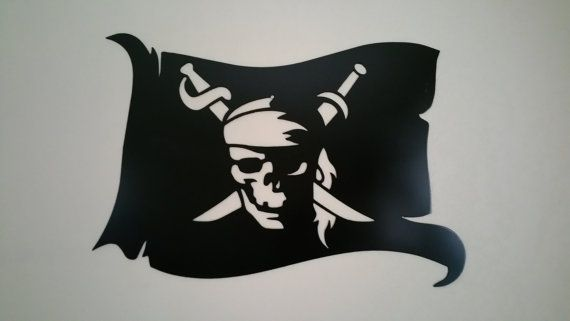 Hey, I found this really awesome Etsy listing at https://www.etsy.com/listing/258434733/pirate-flag-metal-wall-art