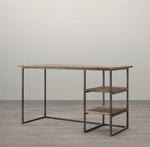 Fulton Desk Original:   140 x 60 x 79 (repisas calculo 36.2) Yo: 120 x 51 x 79 (repisas de 31)  ¿Agregar cajón de 10 cm todo lo largo de la mesa?