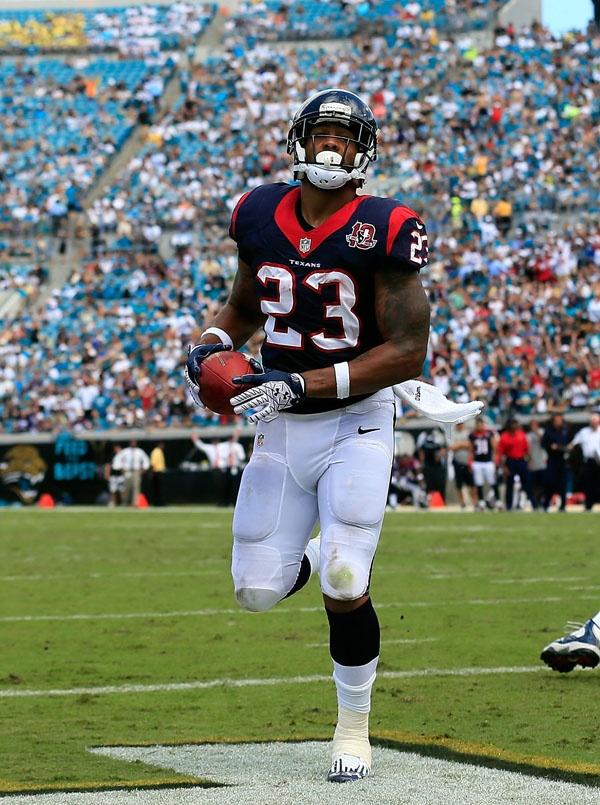 Touchdown!  Arian Foster Texans vs Jaguars, Sept. 16, 2012